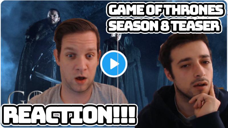 game of thrones reaction thumbnail